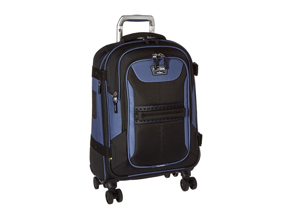 Travelpro TPro Bold 2.0 21 Expandabale Spinner (Black/Navy) Luggage