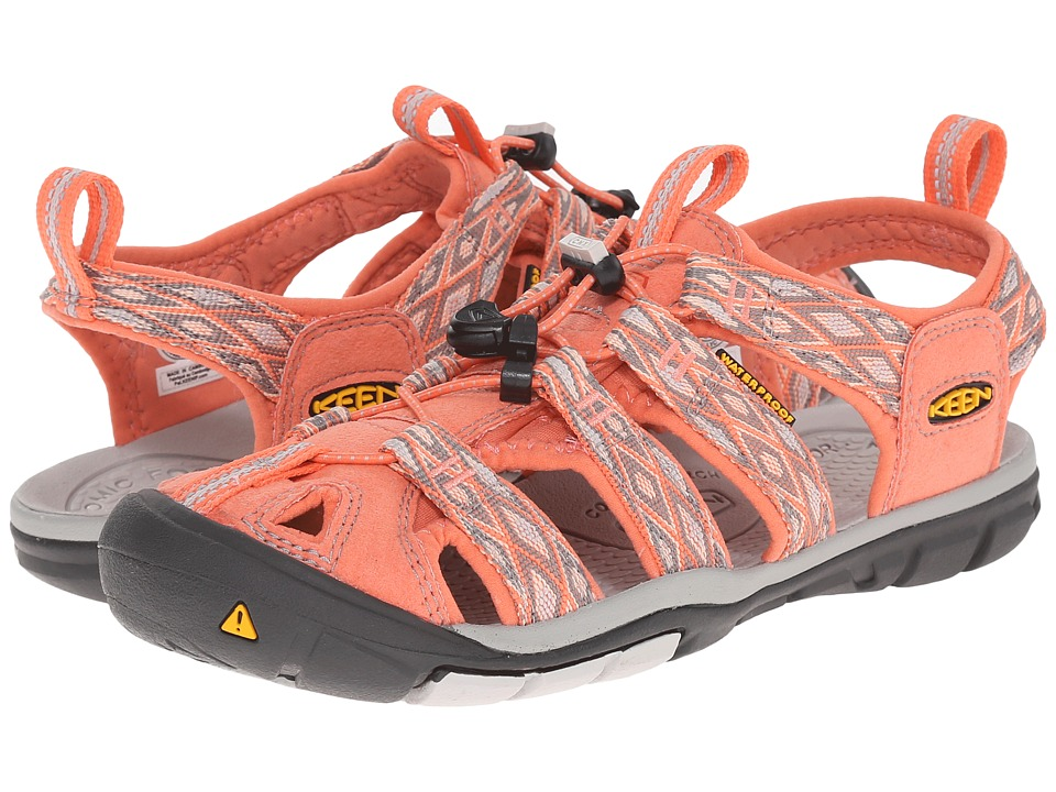 Keen - Clearwater CNX (Fusion Coral/Vapor) Women