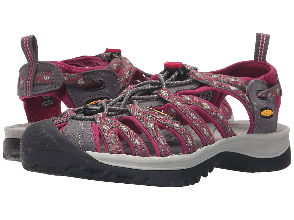 Keen Whisper (Magnet/Sangria) Women's Sandals