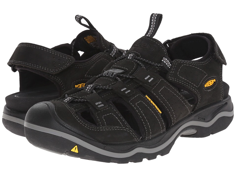 Keen - Rialto (Black/Gargoyle) Men's Shoes