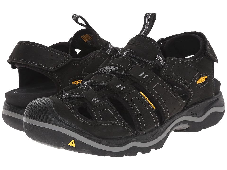 Keen - Rialto (Black/Gargoyle) Mens Shoes