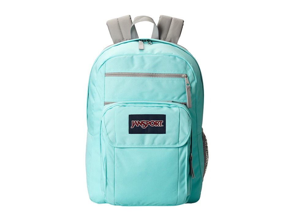 JanSport Digital Student Grey Rabbit Sylvia Dot Backpack Bags
