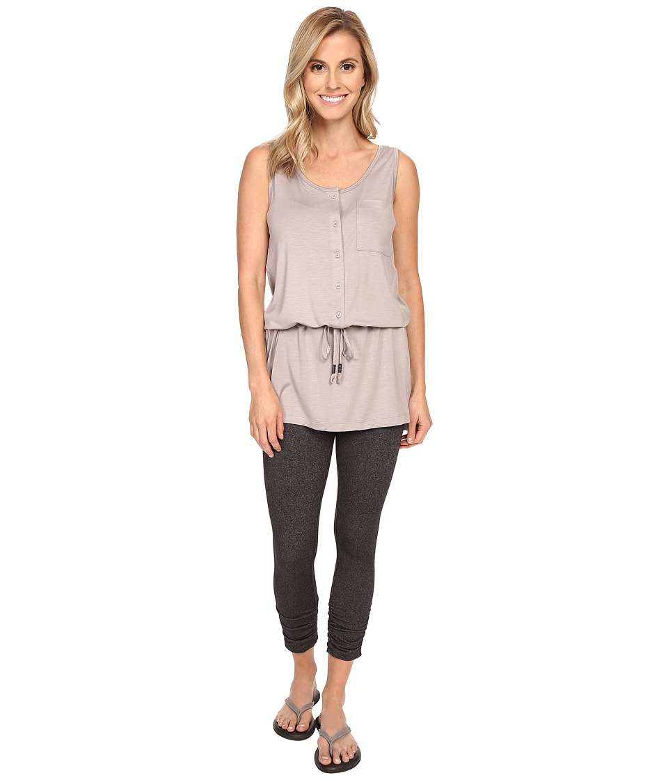 Lole Anita Tunic Shitake Heather Womens Sleeveless