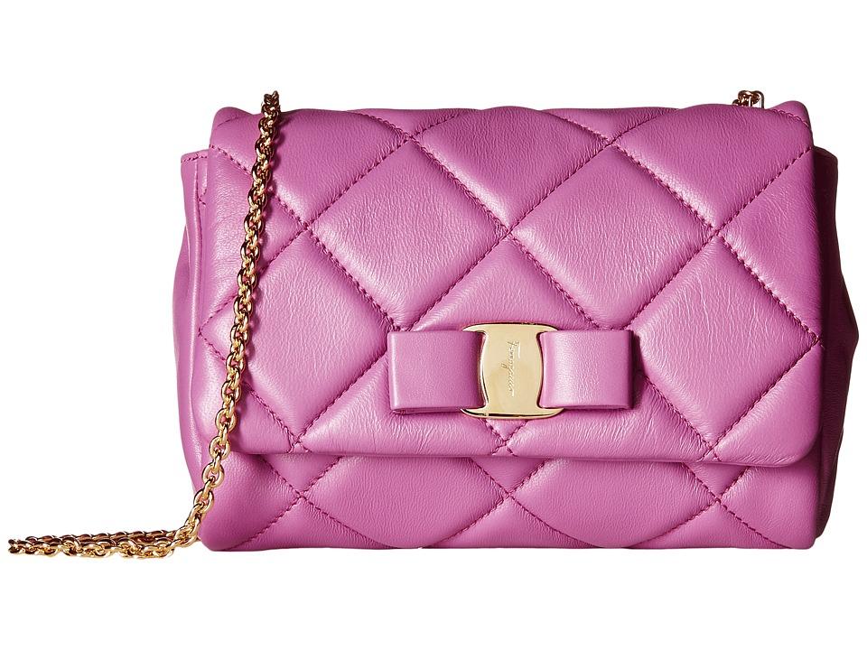 Salvatore Ferragamo - 22C150 (Anemone) Cross Body Handbags