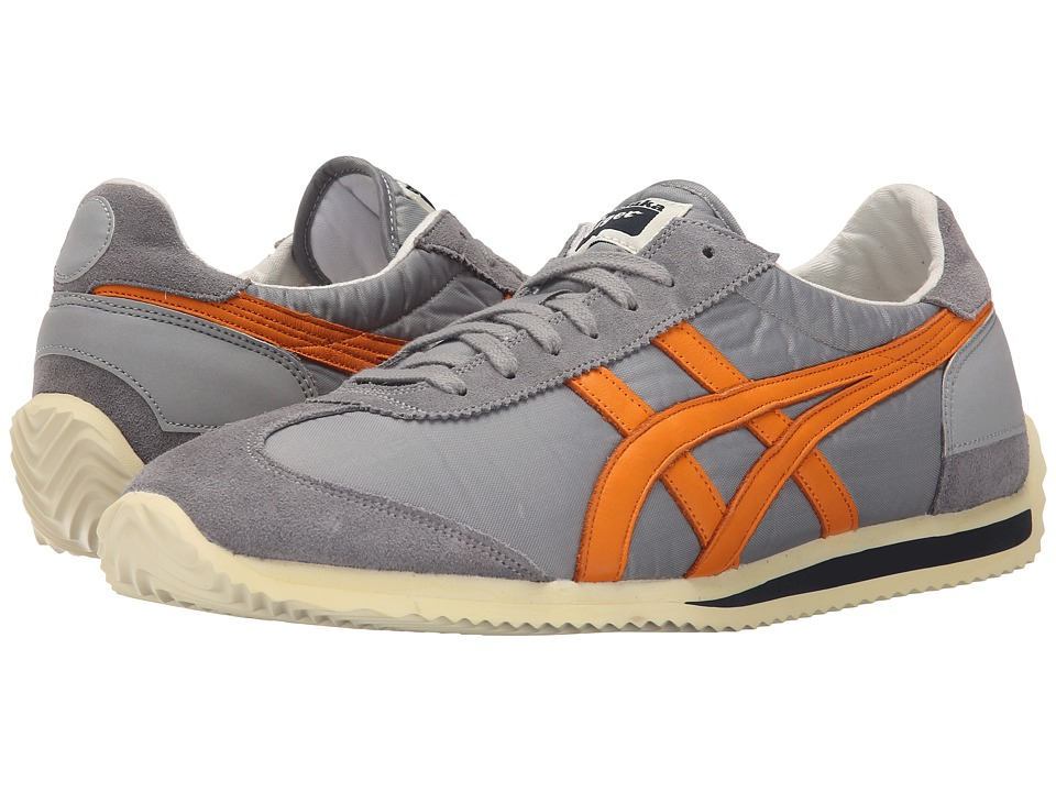 Onitsuka Tiger by Asics California 78 Vintage Medium Grey/Orange Pepper Classic Shoes