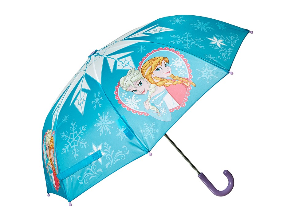 Western Chief Kids Frozen Elsa Anna Umbrella Youth Blue Umbrella