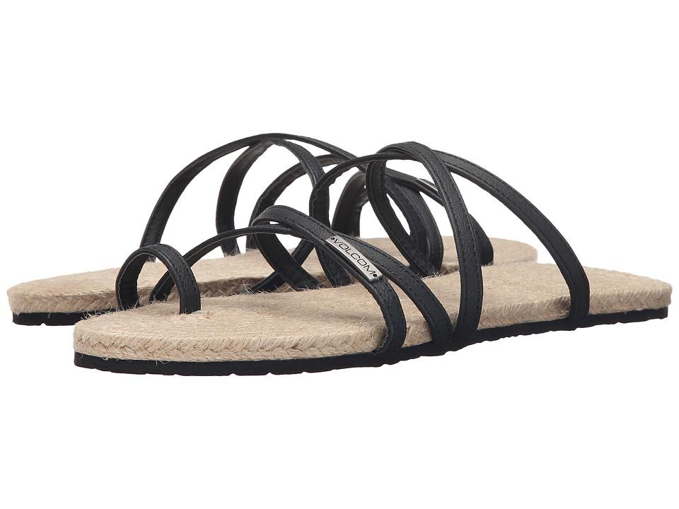Volcom - Hook It Up Sandal (Black) Women