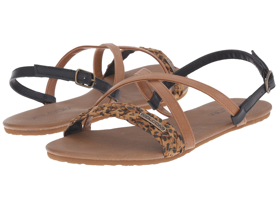 Volcom - Journey Sandal (Cheetah) Women