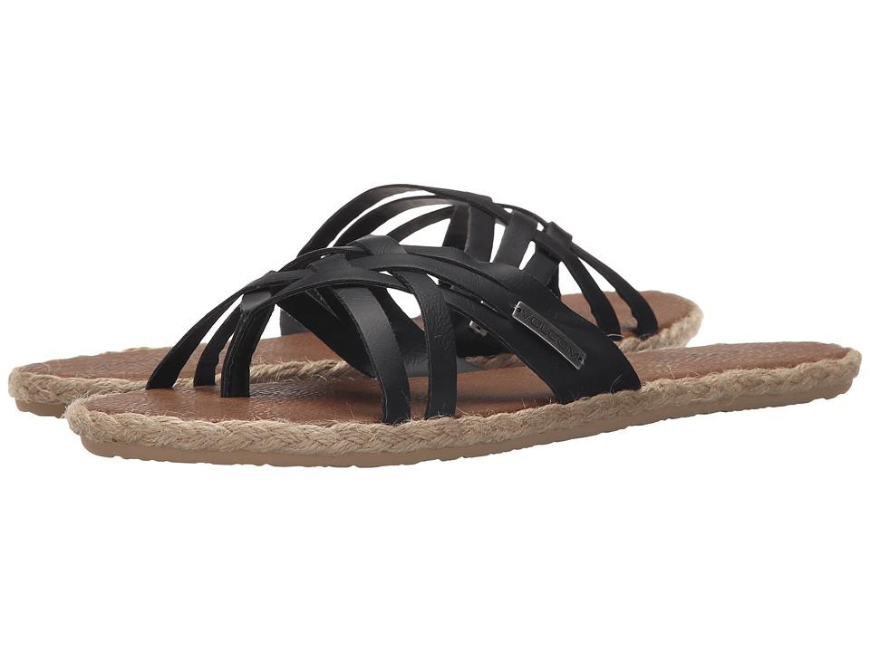 Volcom Check In Sandal (Black) Women