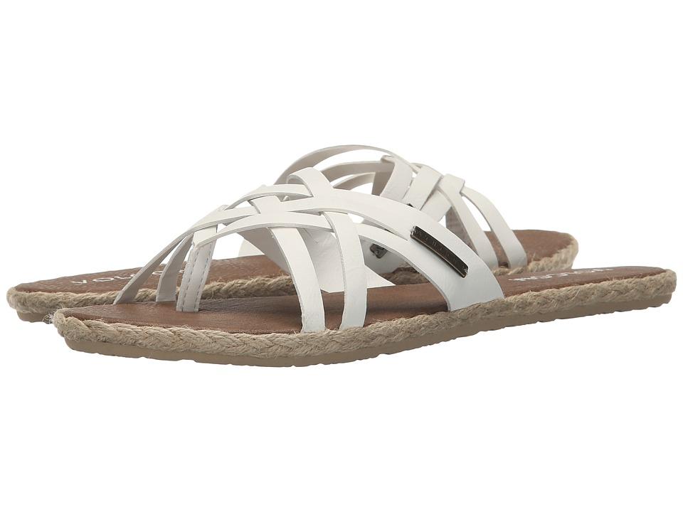 Volcom Check In Sandal (White) Women