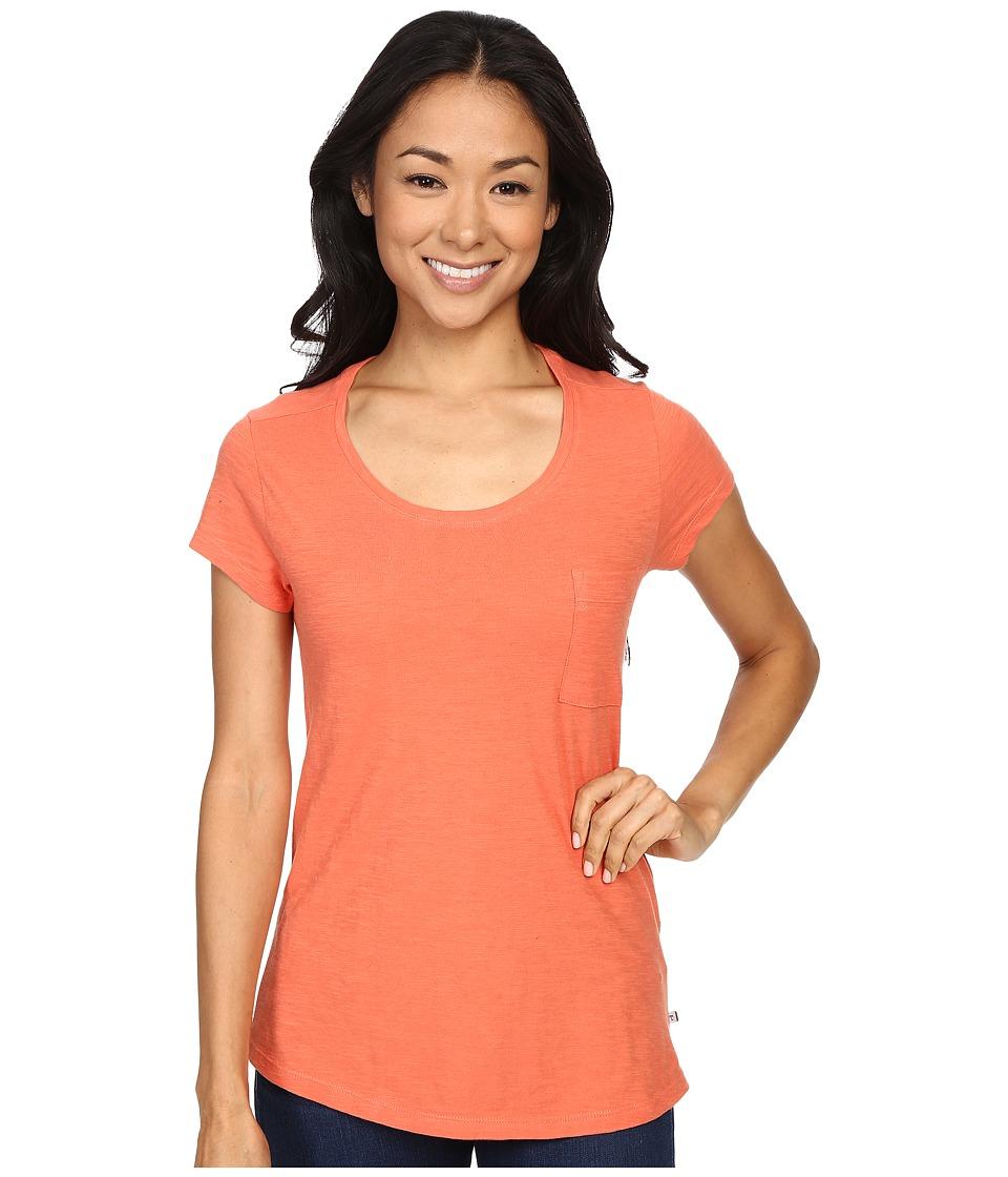 ToadampCo Rivulet S/S Tee Cedar Womens Short Sleeve Pullover