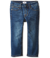 Hudson Kids - Parker French Terry Straight Leg in Blue Collar (Toddler/Little Kids/Big Kids)