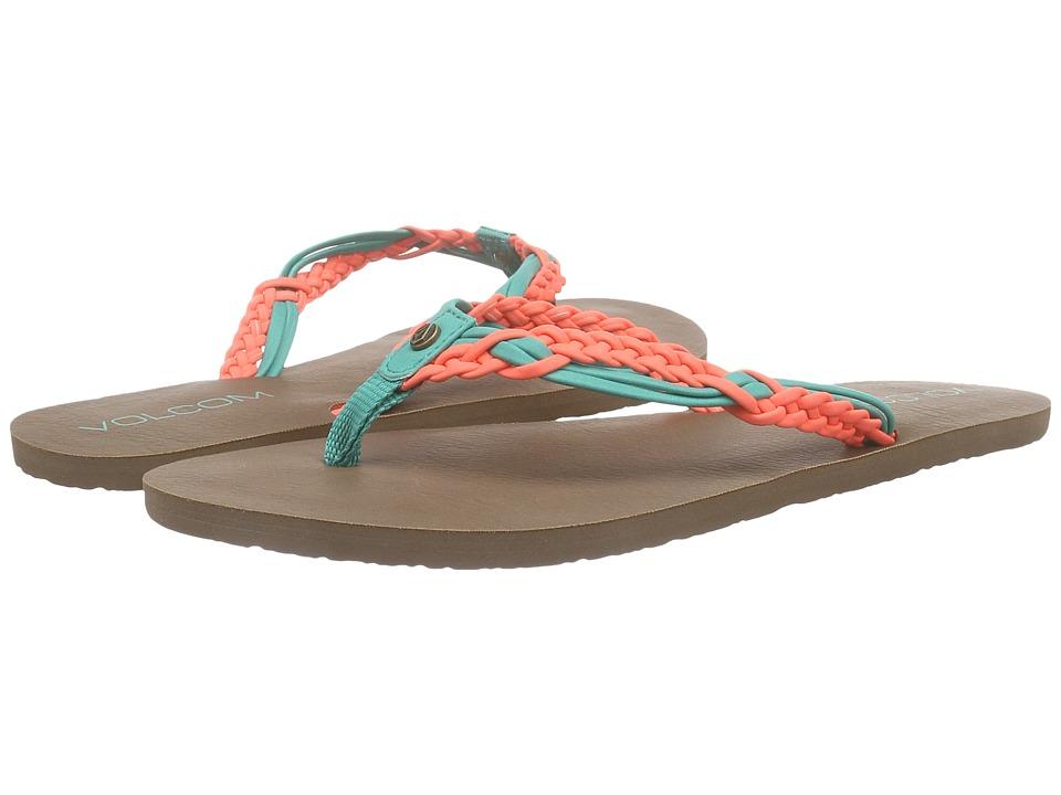 Volcom Tipsy Sandal (Summer Orange) Women