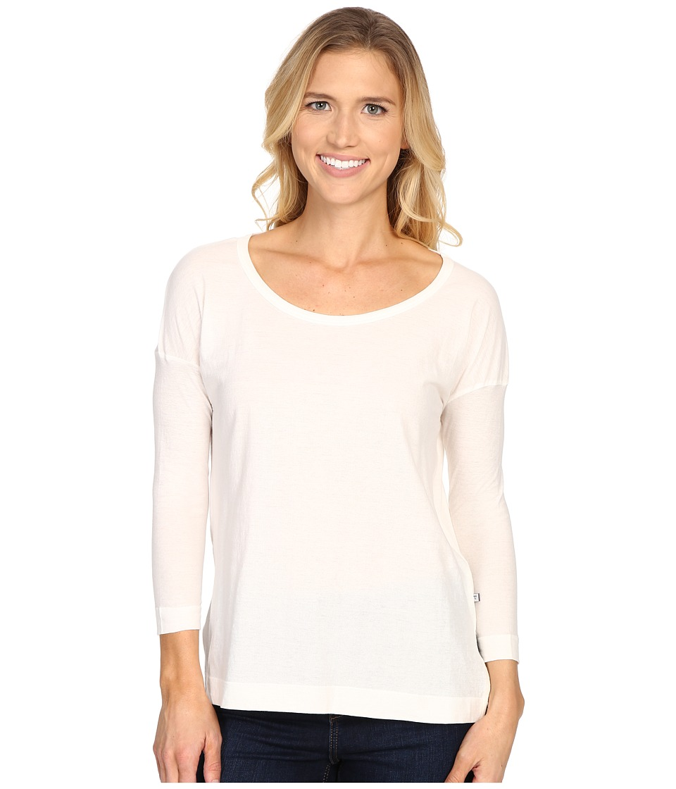 ToadampCo Tissue 3/4 Tee Egret Womens Long Sleeve Pullover