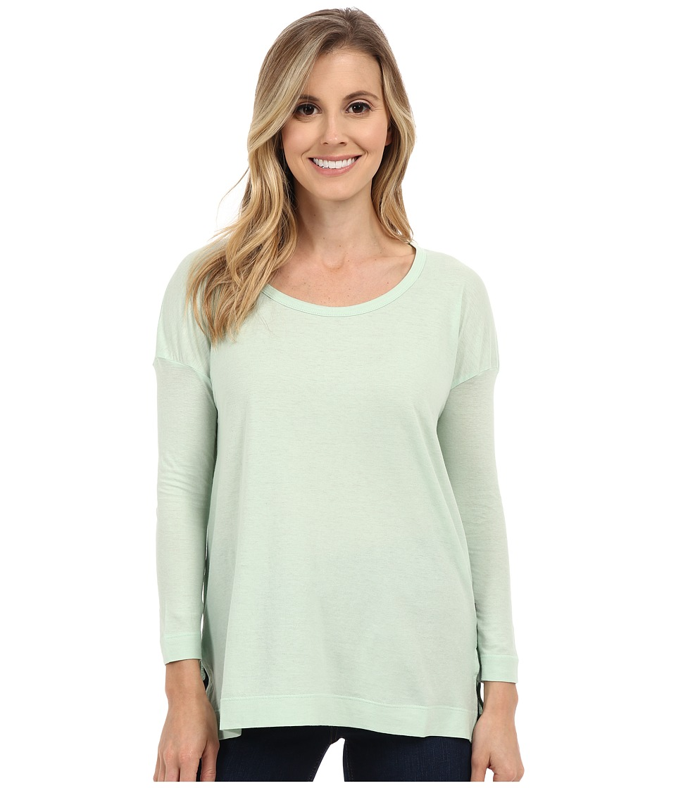 ToadampCo Tissue 3/4 Tee Pistachio Womens Long Sleeve Pullover