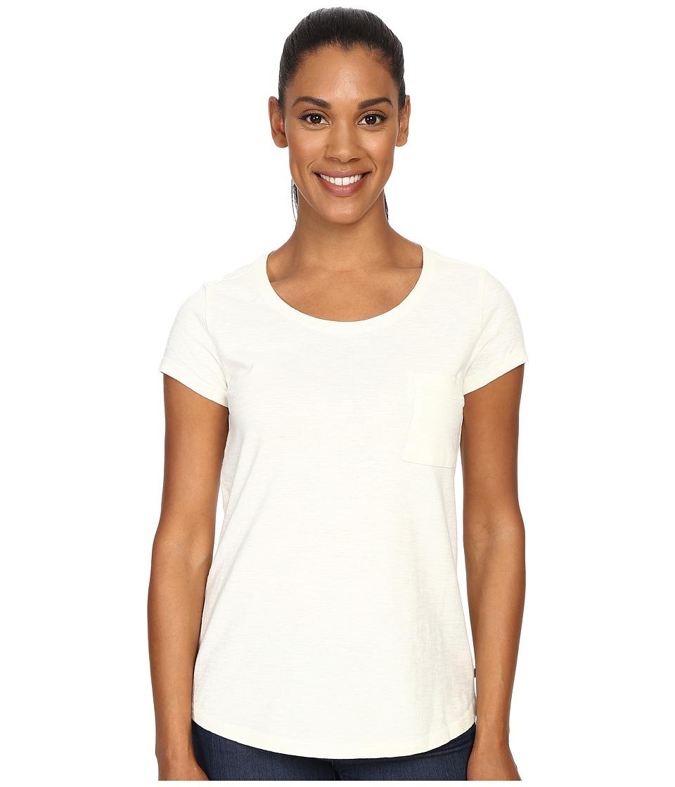 ToadampCo Rivulet S/S Tee Egret 1 Womens Short Sleeve Pullover