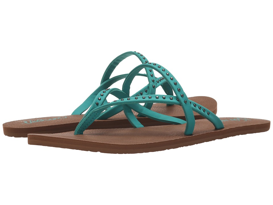 Volcom All Day Long 2 Mint Womens Sandals