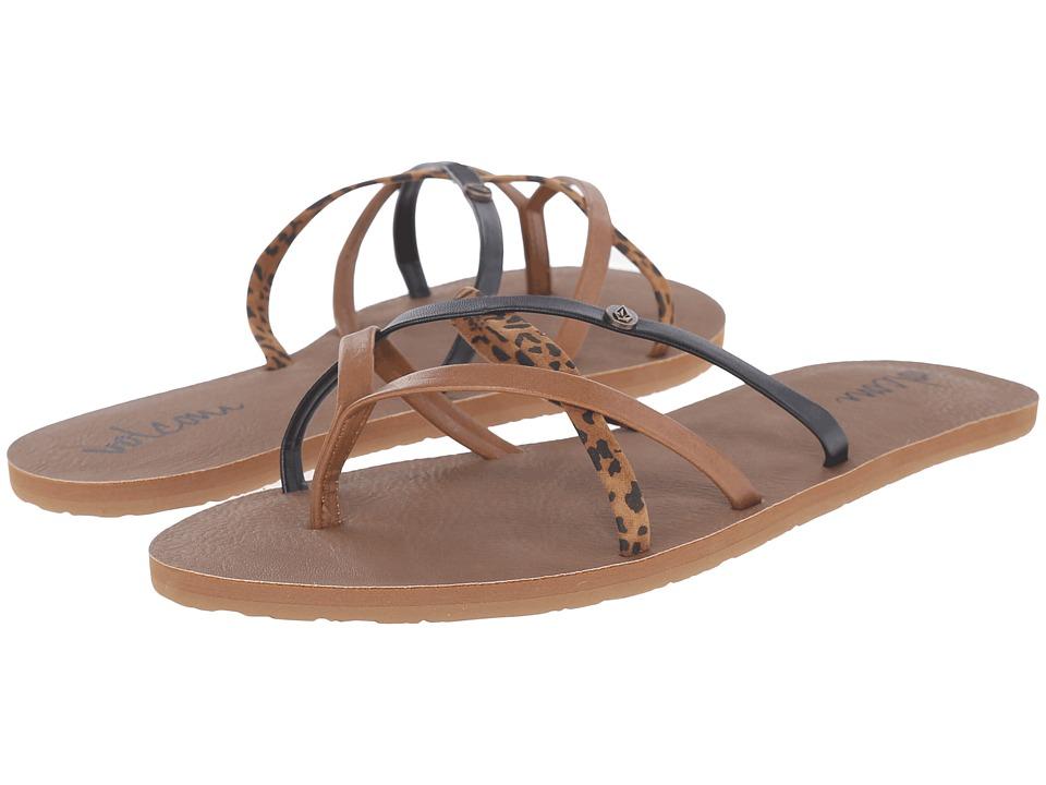 Volcom - New School 2 (Cheetah) Womens Sandals
