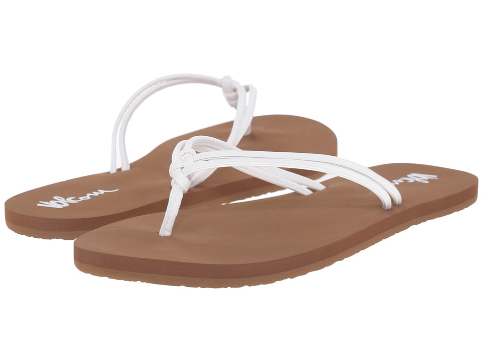Volcom Forever and Ever 2 (White) Sandals