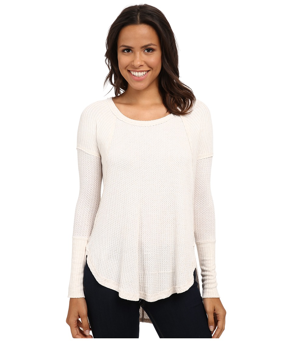 Free People Drippy Thermal Ventura Thermal Oatmeal Heather Womens Clothing