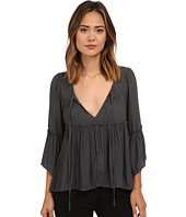 Free People - Pebbled Chiffon A Few Of My Favorite Things Blouse