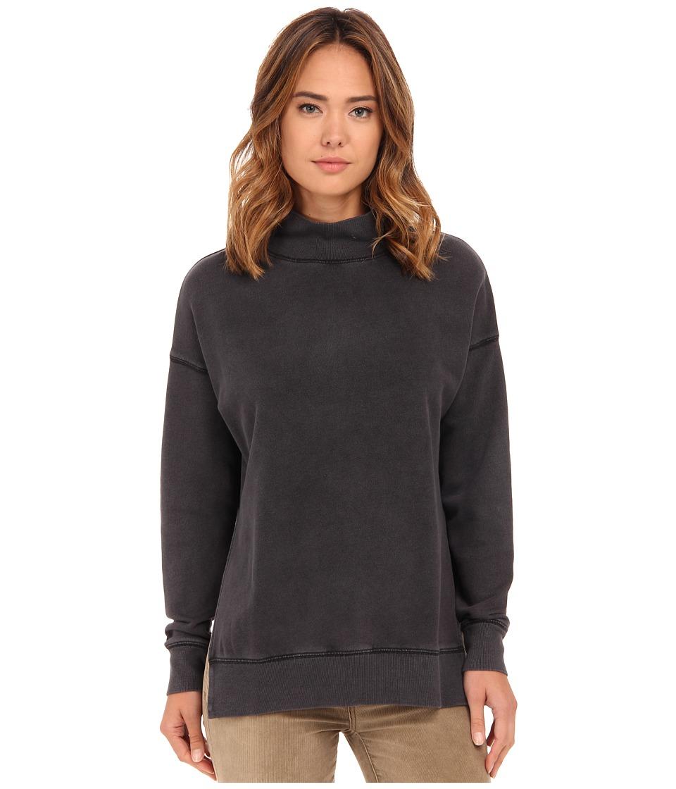 Free People Jolene Pullover Black Womens Sweater
