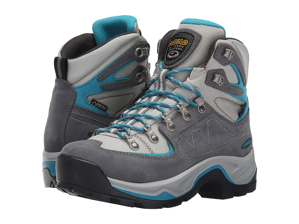 Asolo - TPS Equalon GV EVO (Grey Blue/Peacock) Women
