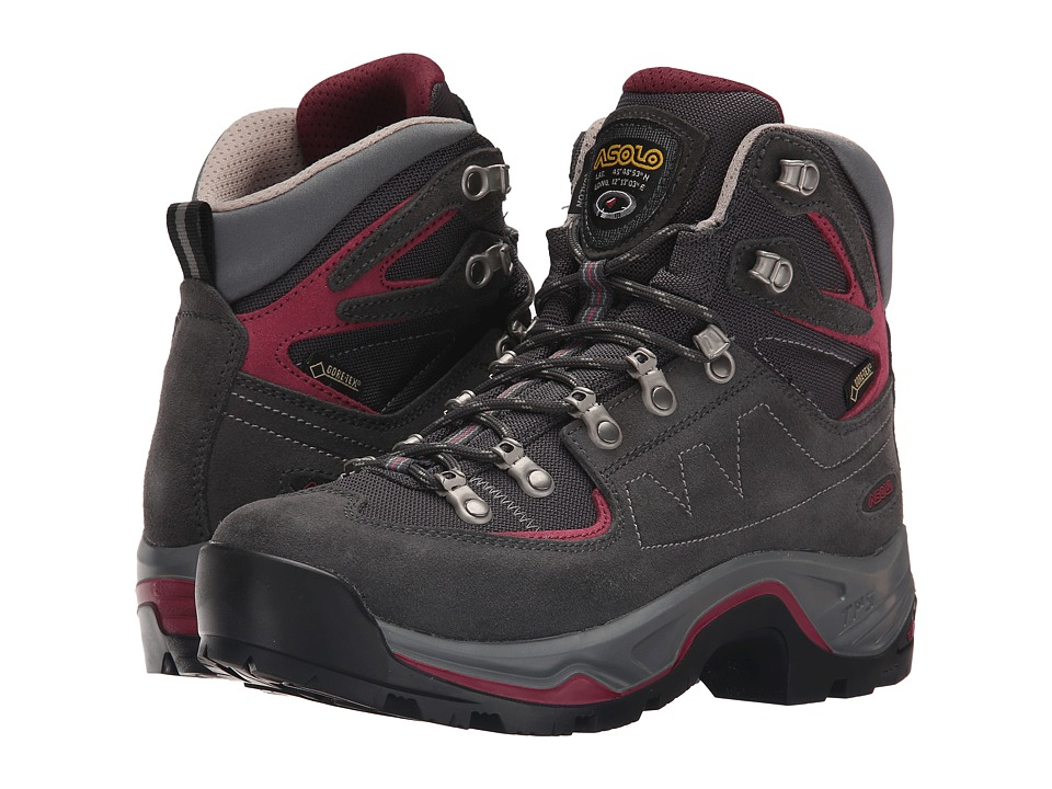 Asolo TPS Equalon GV EVO (Graphite/Red Bud) Women