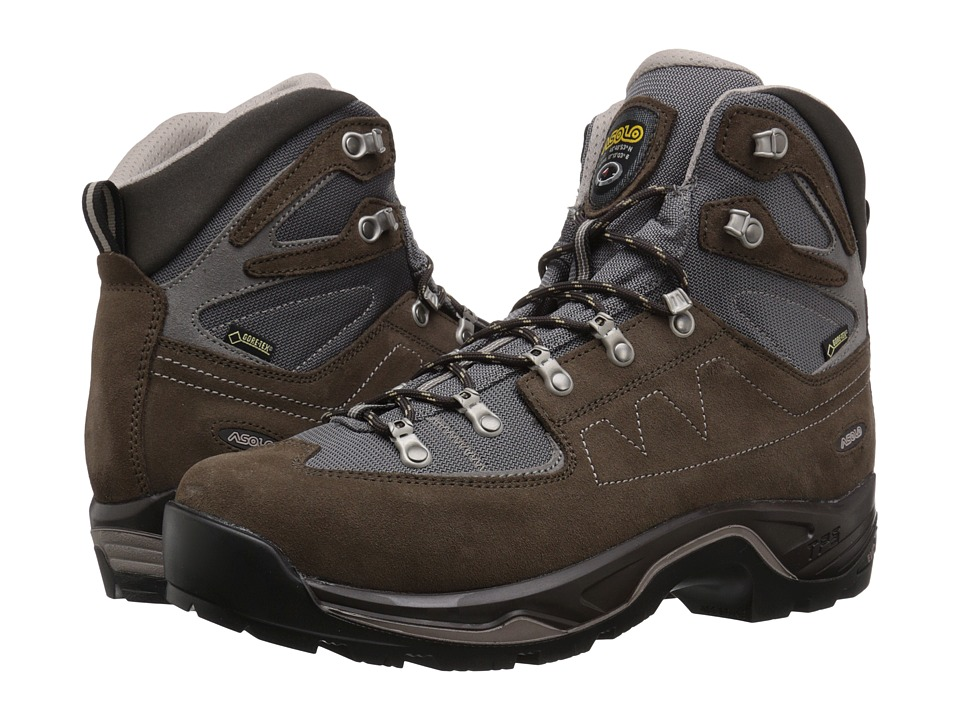 Asolo TPS Equalon GV EVO (Dark Brown/Cendre) Men