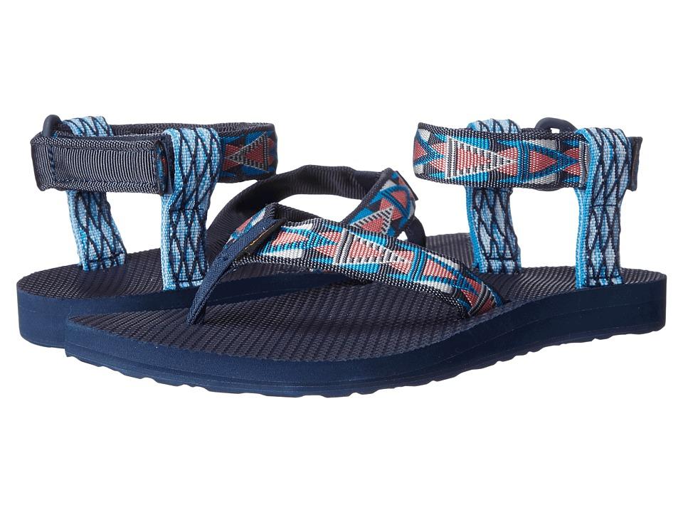 Teva Original Sandal Mashup Blue Womens Sandals