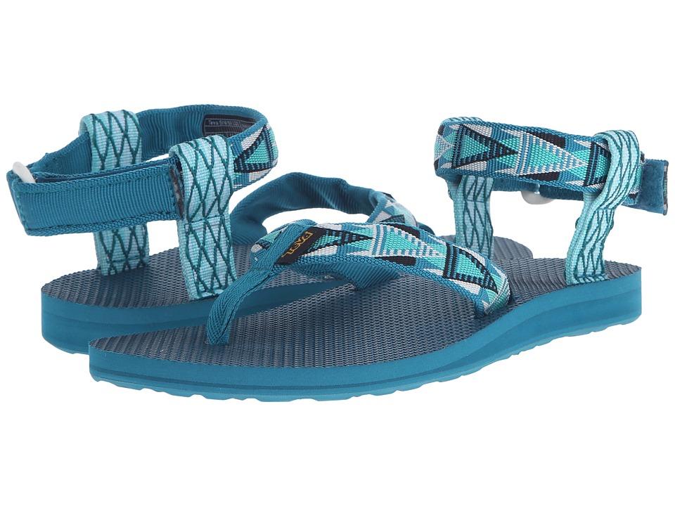 Teva Original Sandal Mashup Harbor Blue Womens Sandals
