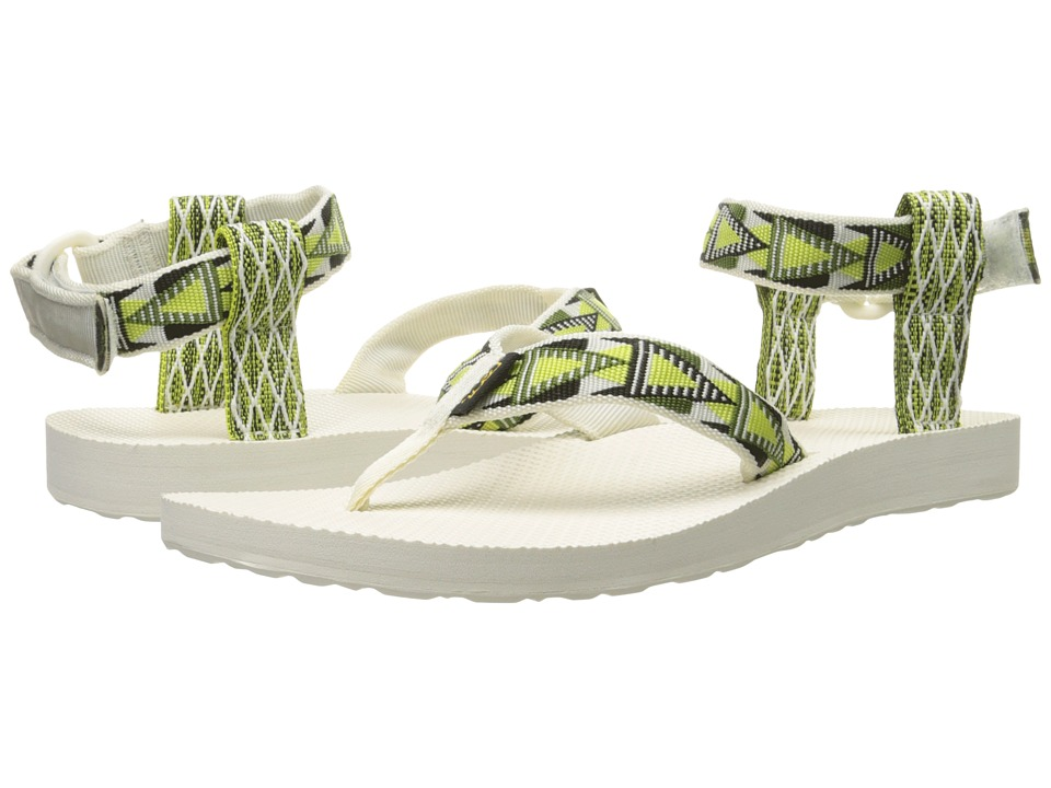 Teva Original Sandal Mashup Atomic Lime Womens Sandals