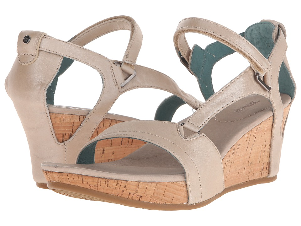 Teva Capri Wedge Pearlized Ivory Womens Wedge Shoes