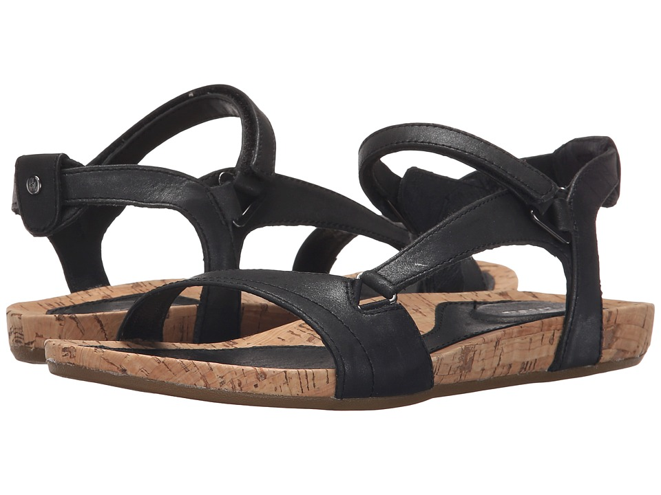 Teva Capri Universal Pearlized Black Womens Sandals