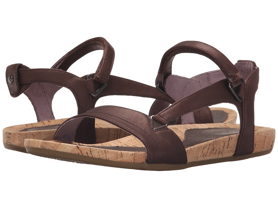 Teva Capri Universal Pearlized Chocolate Womens Sandals