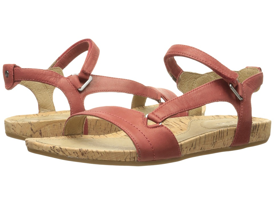 Teva Capri Universal Pearlized Red Womens Sandals