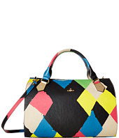 Vivienne Westwood - Painted Argyle Oversized Boston