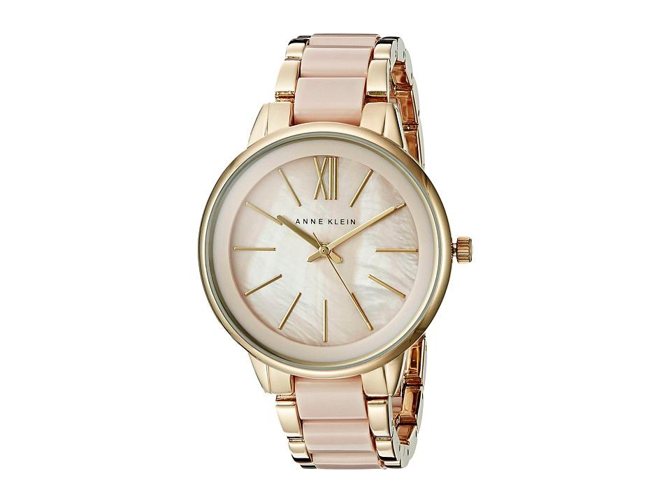 Anne Klein - AK-1412BMGB (Pink/Gold Tone) Watches