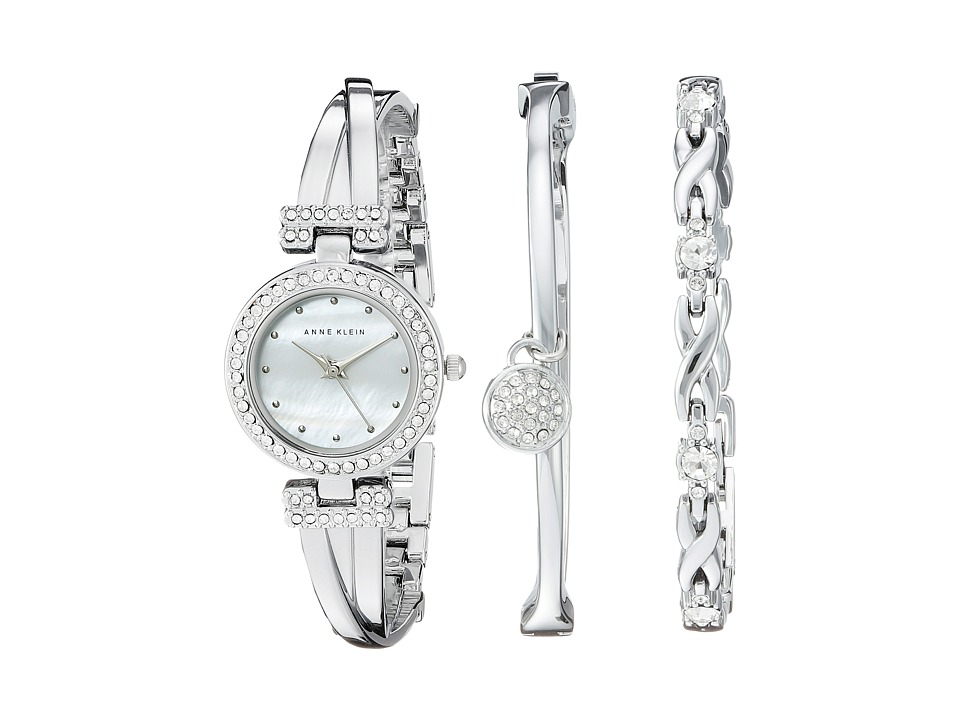 Anne Klein AK-1869SVST Set (Silver Tone) Watches