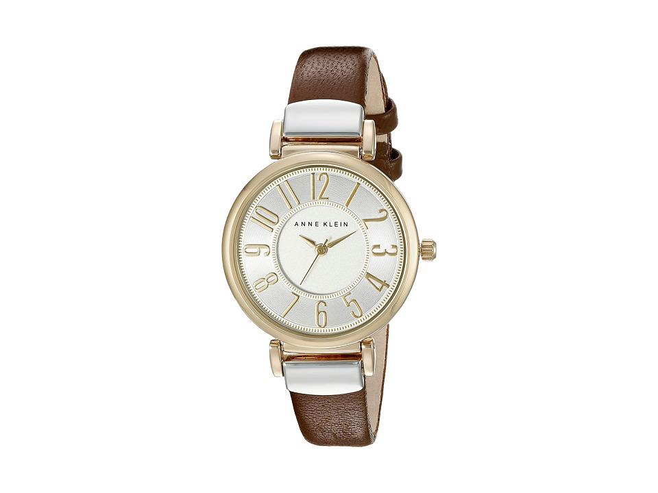 Anne Klein - AK-2157SVBN (Brown/Two-Tone) Watches