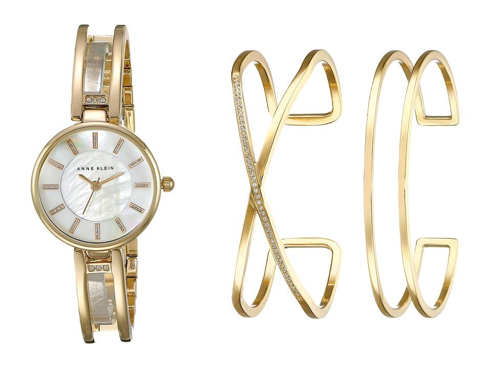 Anne Klein - AK-2236GBST Set (Gold Tone) Watches