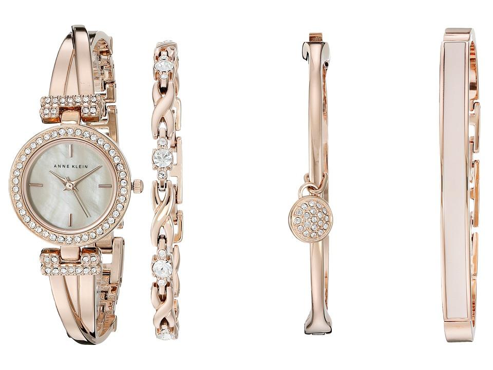 Anne Klein - AK-2238RGST (Rose Gold Tone) Watches