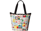 LeSportsac Hailey Tote (Snoopy Patchwork)