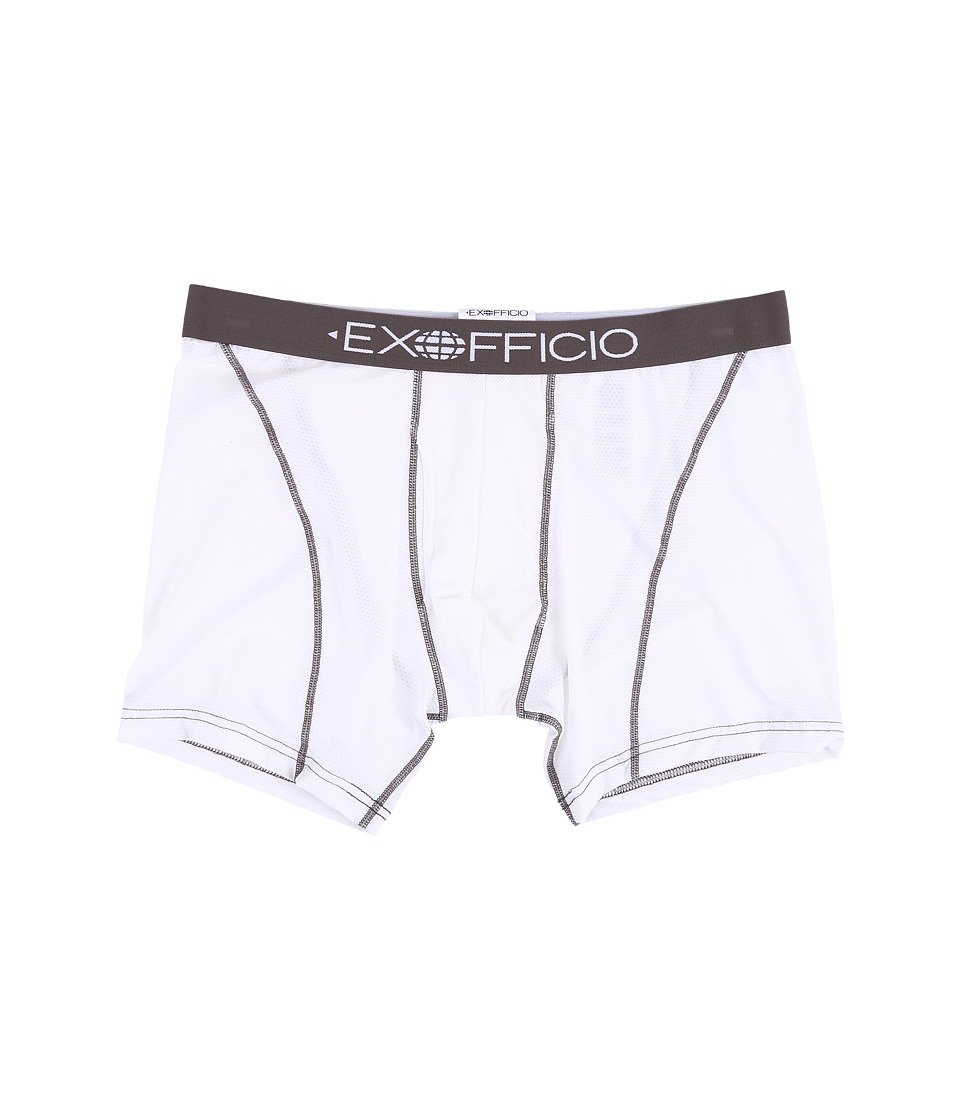 ExOfficio Give-N-Go Sport 6 Boxer Brief (White) Men