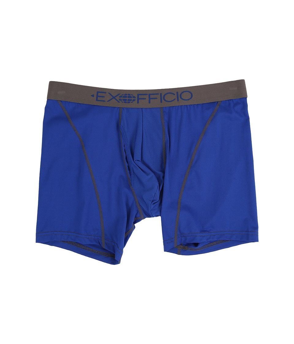 ExOfficio Give-N-Go Sport 6 Boxer Brief (Royal) Men