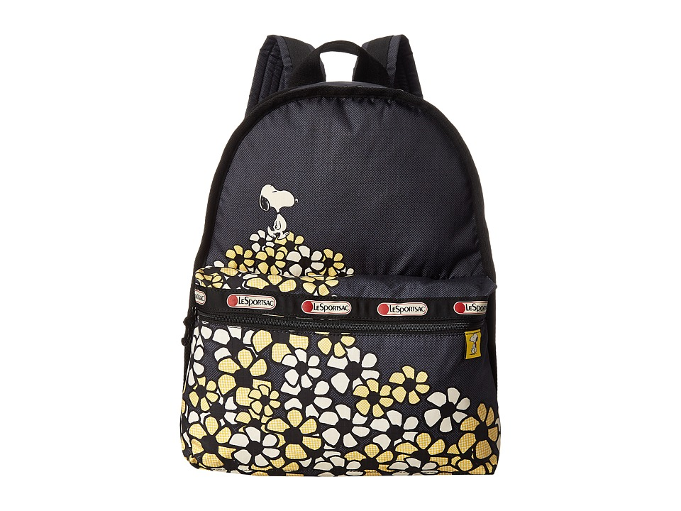 LeSportsac - Basic Backpack Bag (Field Of Daisies) Backpack Bags