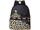 LeSportsac Basic Backpack Bag (Field Of Daisies)