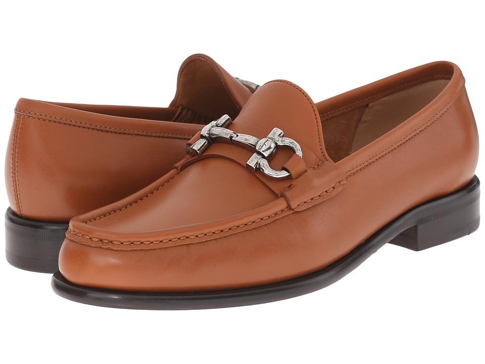 Salvatore Ferragamo Mason Cuoio Condor Calf Womens Slip on Shoes