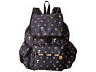LeSportsac Voyager Backpack (Snoopy Daisy)
