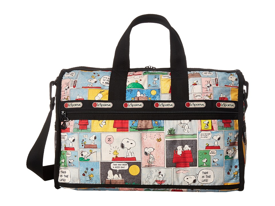 LeSportsac Luggage - Medium Weekender (Snoopy Patchwork) Duffel Bags